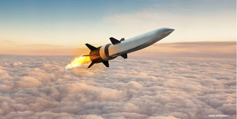 Пентагон испытал ракету с пятикратным превышением скорости звука