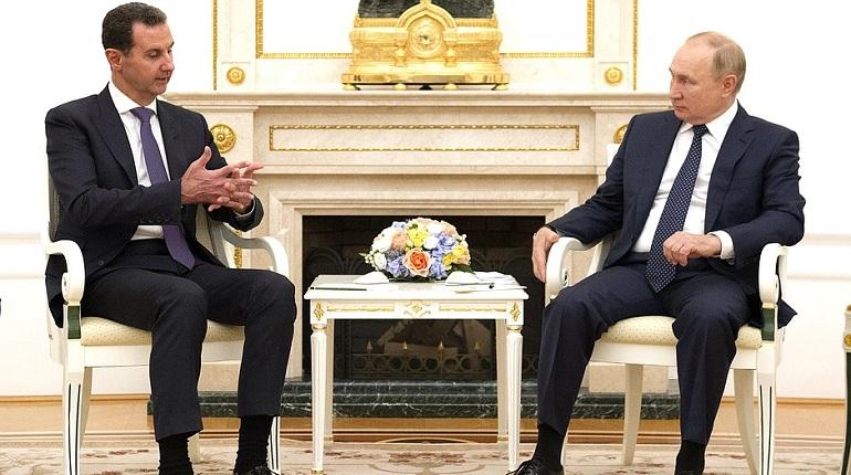 Владимир Путин встретился с президентом Сирии Башаром Асадом