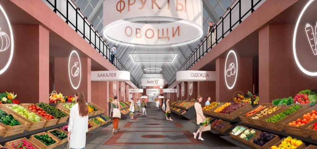 Новый павильон Сытного рынка Петербурга построят за 70 млн рублей