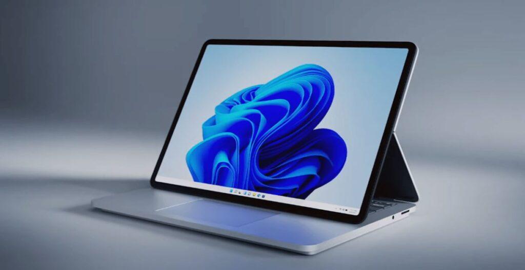 Microsoft представила новый гибрид планшета и ноутбука с не отстегивающейся клавиатурой