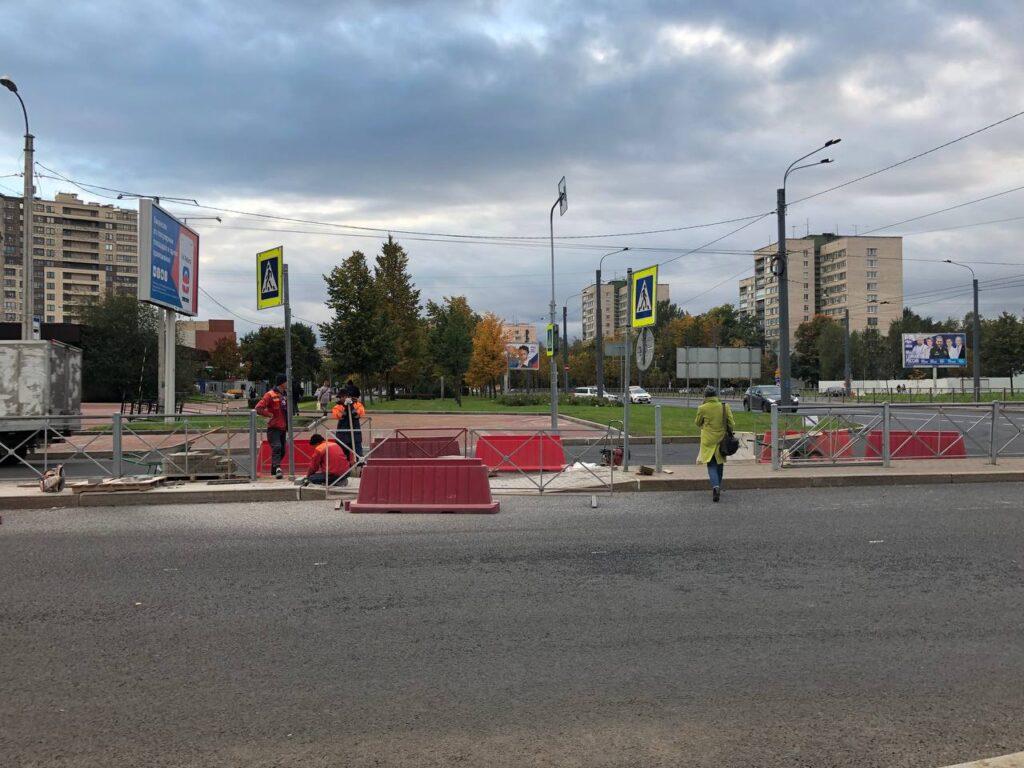«Знаки есть, разметки нет»: дорогу на Тухачевского отремонтировали не до конца