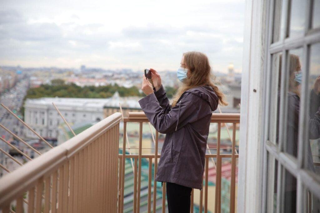 Фоторепортаж Мойки78: как выглядит Петербург с Думской башни