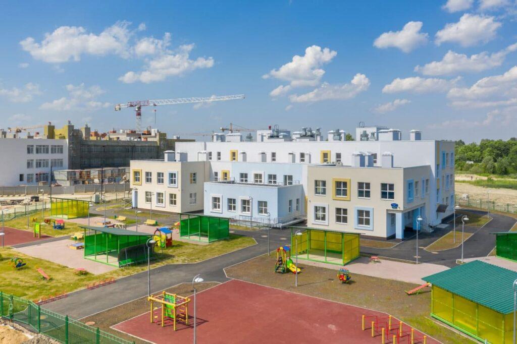 Setl Group открыл детский сад с бассейном и лабиринтом на Пулковском шоссе