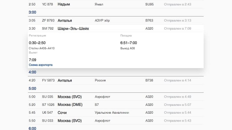 Из Петербурга впервые за шесть лет вылетел самолет в Шарм-эль-Шейх
