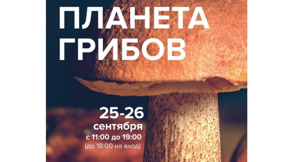 В Ботаническом саду Петра Великого на выходных состоится выставка «Планета грибов»