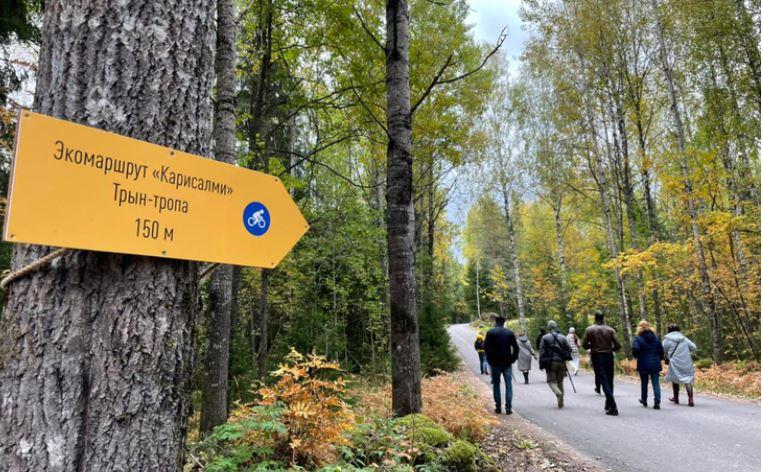 Под Выборгом открылся новый вело-пешеходный маршрут «Карисалми»