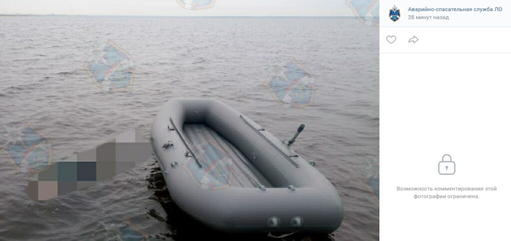 Спасатели обнаружили труп мужчины в Ладожском озере