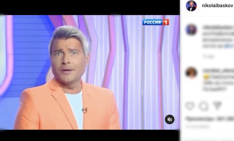 Басков рассказал о своей выходке: на вечеринке хотел пошутить и сжег волосы Лайме Вайкуле