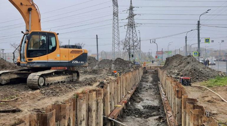 Водоканал до конца года закончит реконструкцию водопровода на улице Доблести