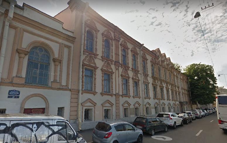 На Фонтанке после реконструкции откроется библиотека имени Маяковского