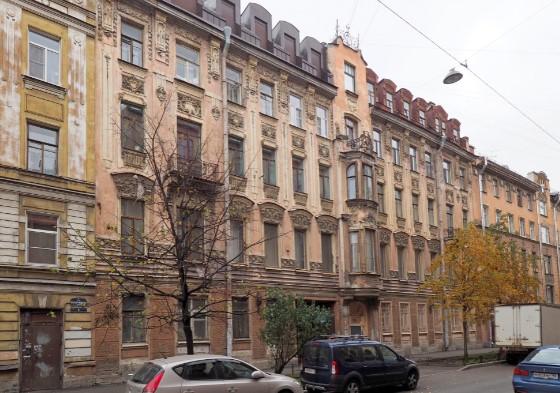 Доходный дом Глухарева в Петербурге стал памятником регионального значения