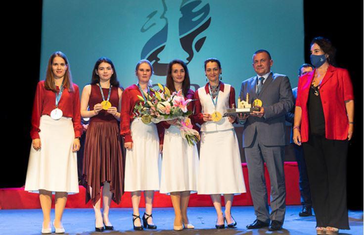 Россиянки во второй раз выиграли командный чемпионат мира по шахматам