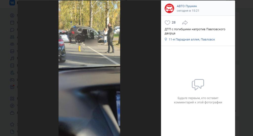 После ДТП в Павловске пассажирка «Порш» скончалась в больнице