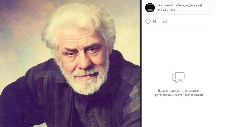 Ушел из жизни актер из «Земского доктора» Валерий Долженков