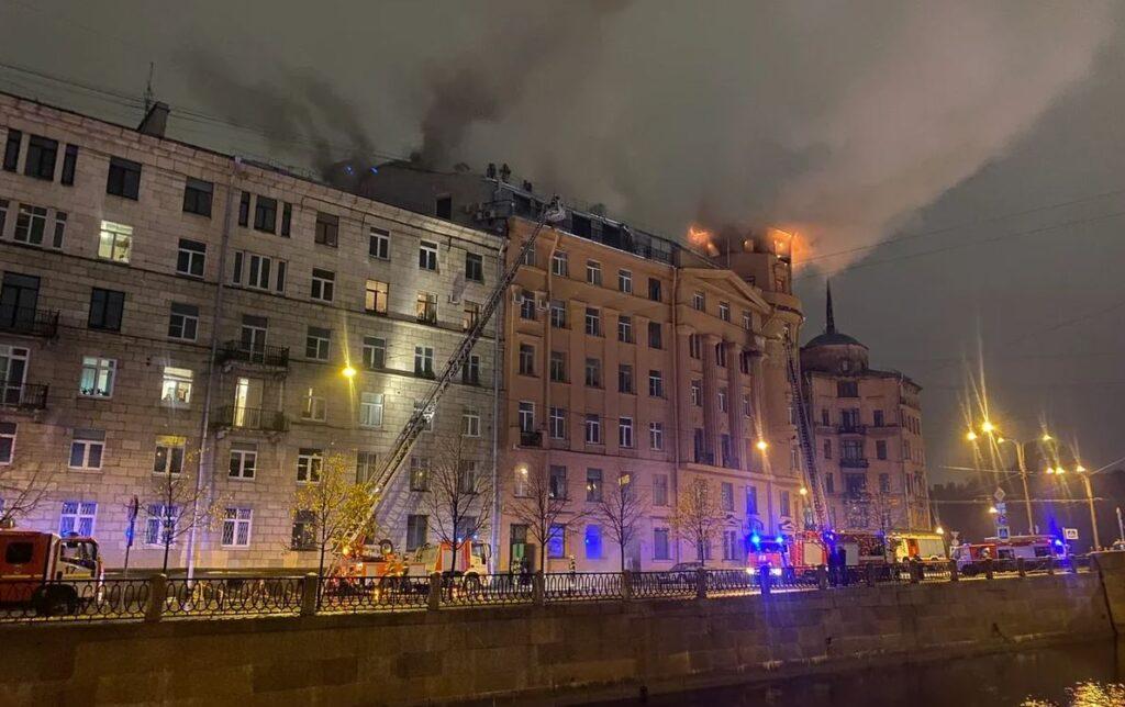 Пожар в доме Чубакова произошел после того, как ФКР его восстанавливал